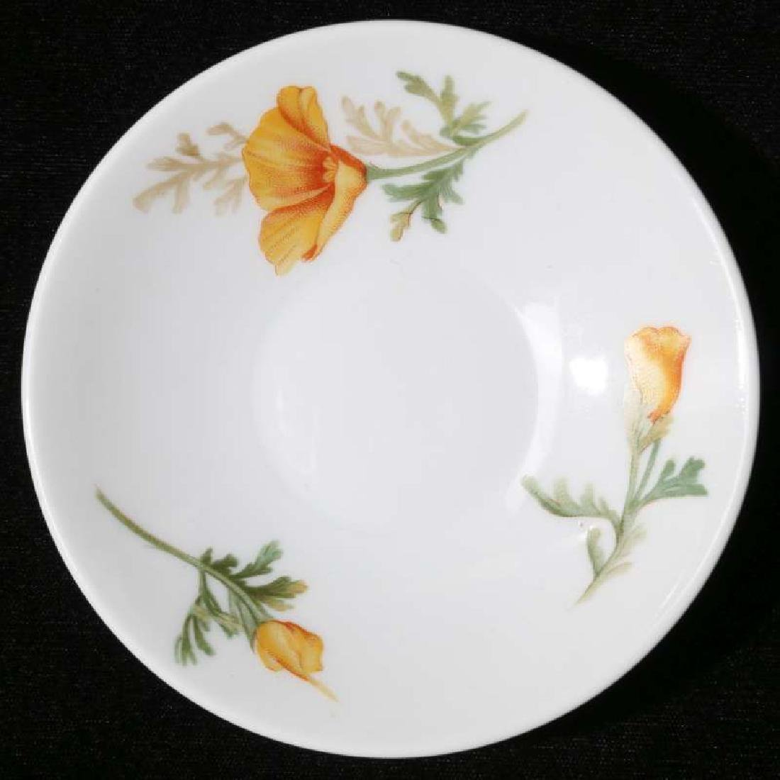 AT&SF CALIFORNIA POPPY DEMITASSE CUP AND SAUCER - 2