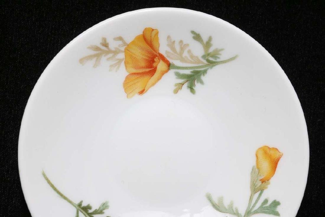 AT&SF CALIFORNIA POPPY DEMITASSE CUP AND SAUCER - 3