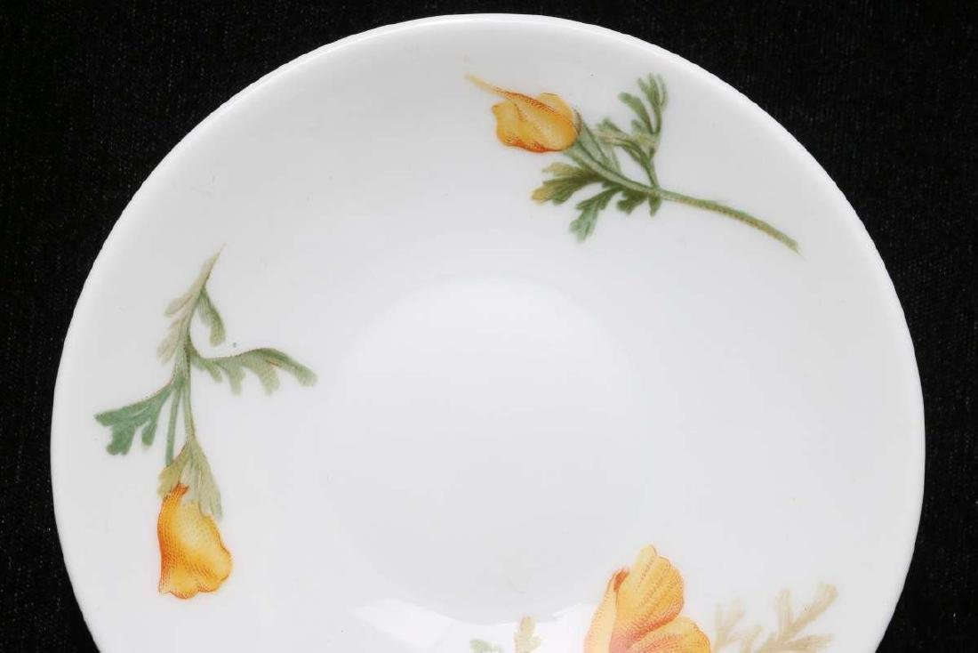 AT&SF CALIFORNIA POPPY DEMITASSE CUP AND SAUCER - 4