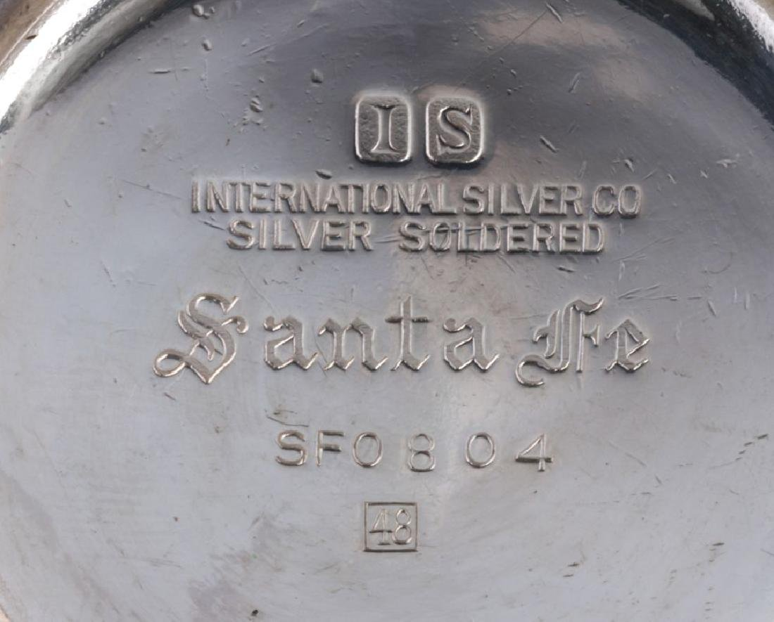 AT&SF SANTA FE RR INT'L SILVER BOTTLE HOLDER - 6