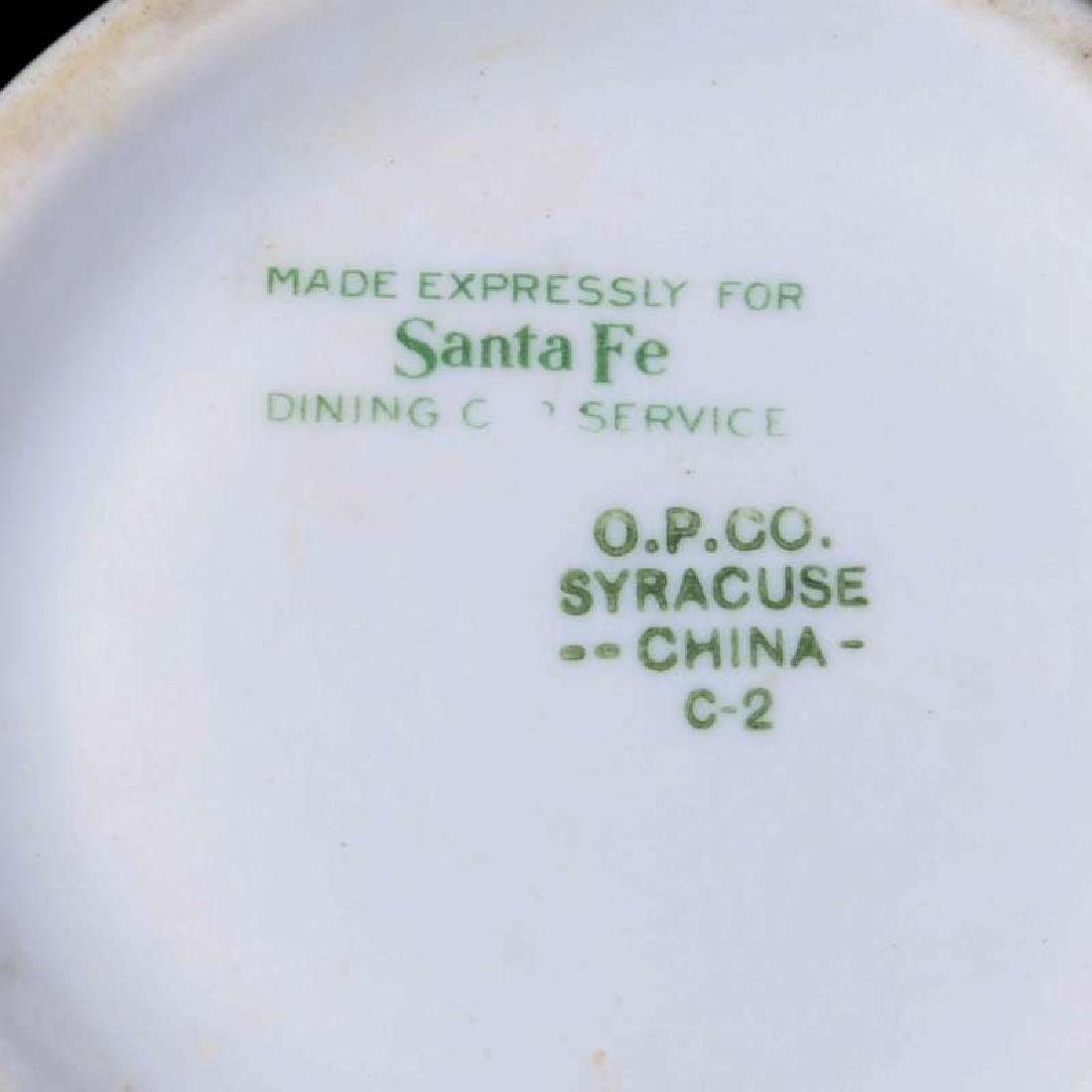 AT&SF SANTA FE RR CALIFORNIA POPPY CHOCOLATE POT - 10