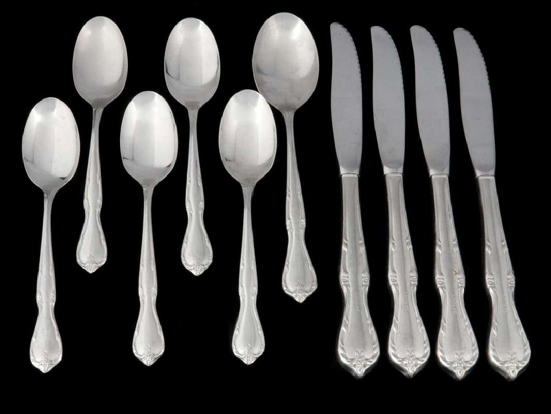 TEN PCS AT&SF SANTA FE RAILROAD FLATWARE