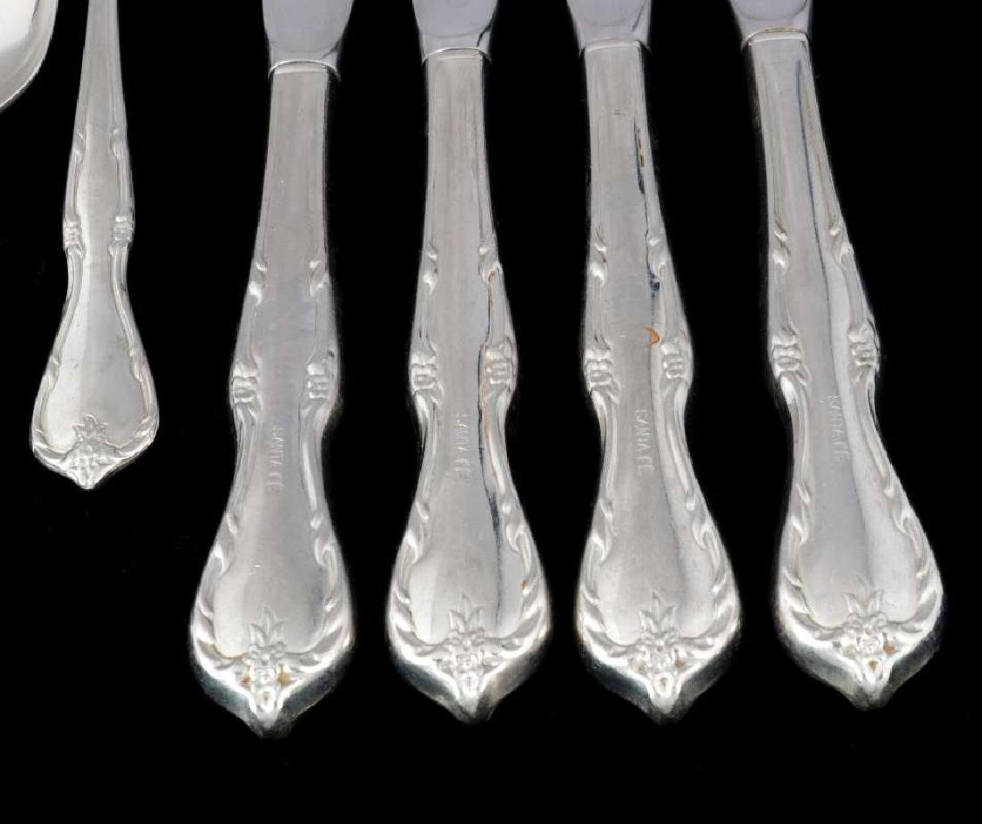 TEN PCS AT&SF SANTA FE RAILROAD FLATWARE - 3