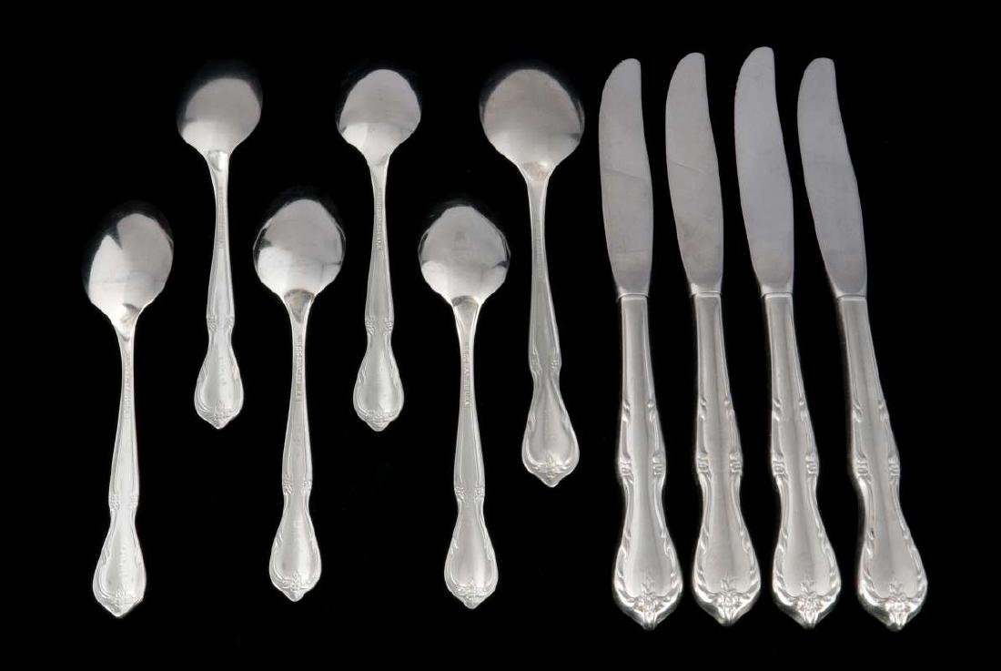 TEN PCS AT&SF SANTA FE RAILROAD FLATWARE - 4
