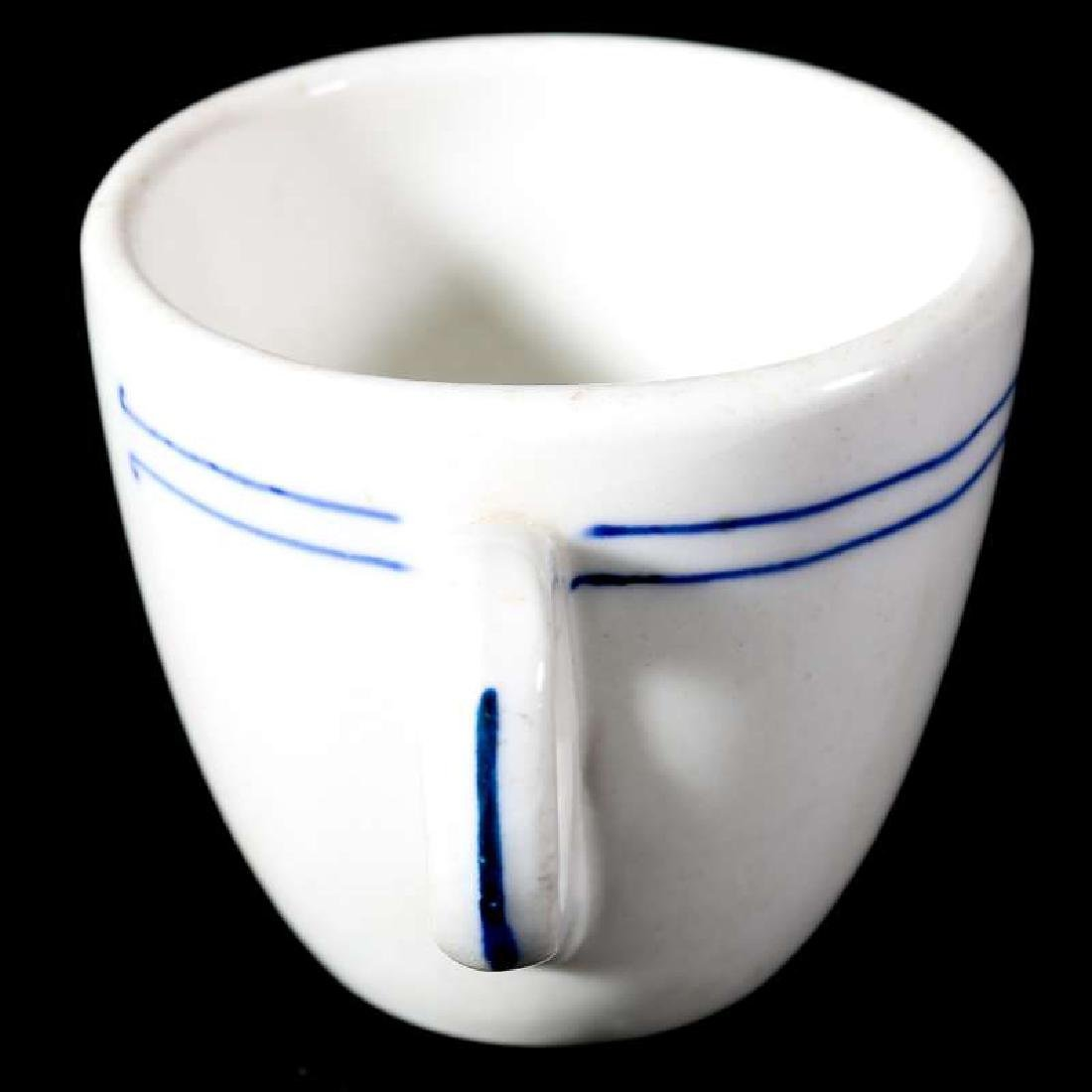 AT&SF SANTA FE RR BLEEDING BLUE DEMITASSE CUP - 4