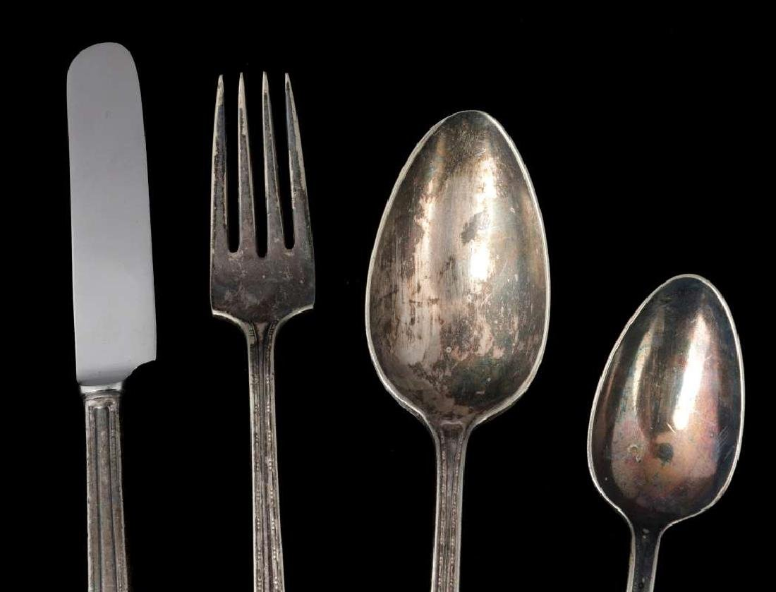 FOUR PIECES PULLMAN CO. ROOSEVELT PATTERN FLATWARE - 3