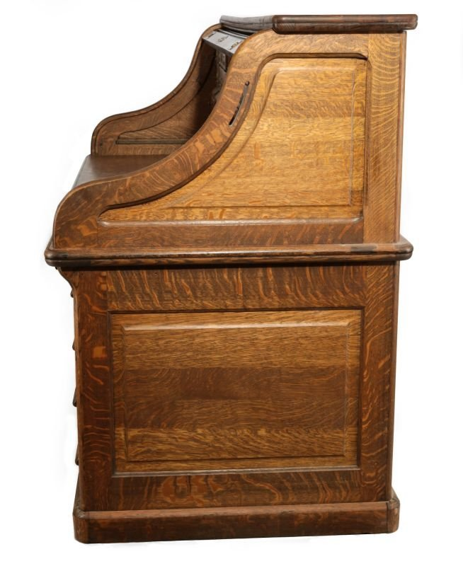 GARFIELD KS  SANTA FE DEPOT ROLL-TOP DESK C. 1872 - 4