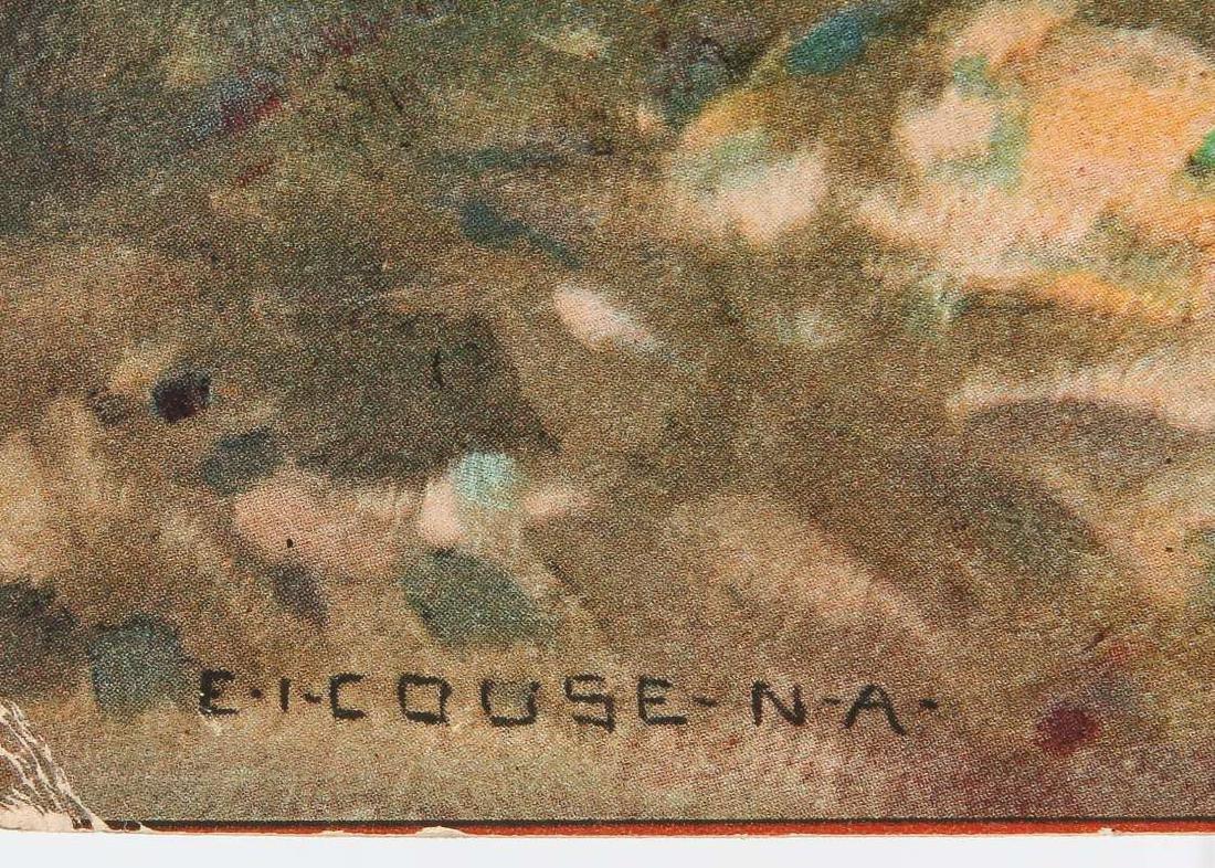 A 1926 SANTA FE RAILROAD  E.I. COUSE CALENDAR  TOP - 6