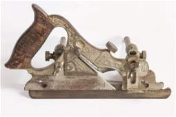 AN ANTIQUE STANLEY NO 141 BULLNOSE PLOW PLANE