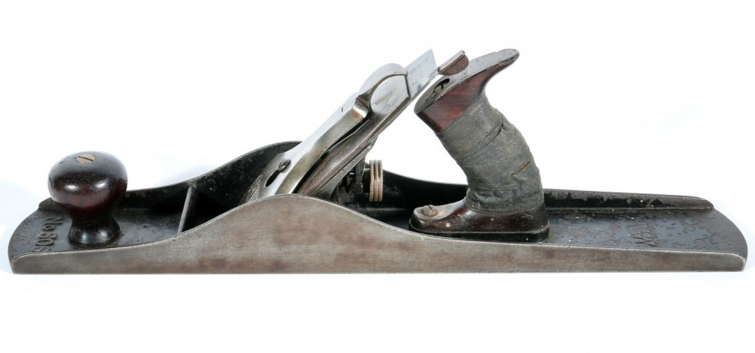 A STANLEY BEDROCK NO. 606 FORE PLANE - 3