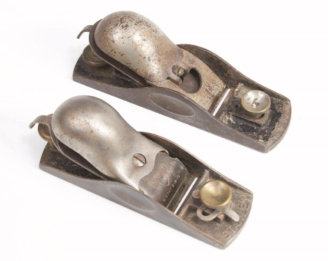 A STANLEY NO. 18 KNUCKLE JOINT BLOCK PLANE