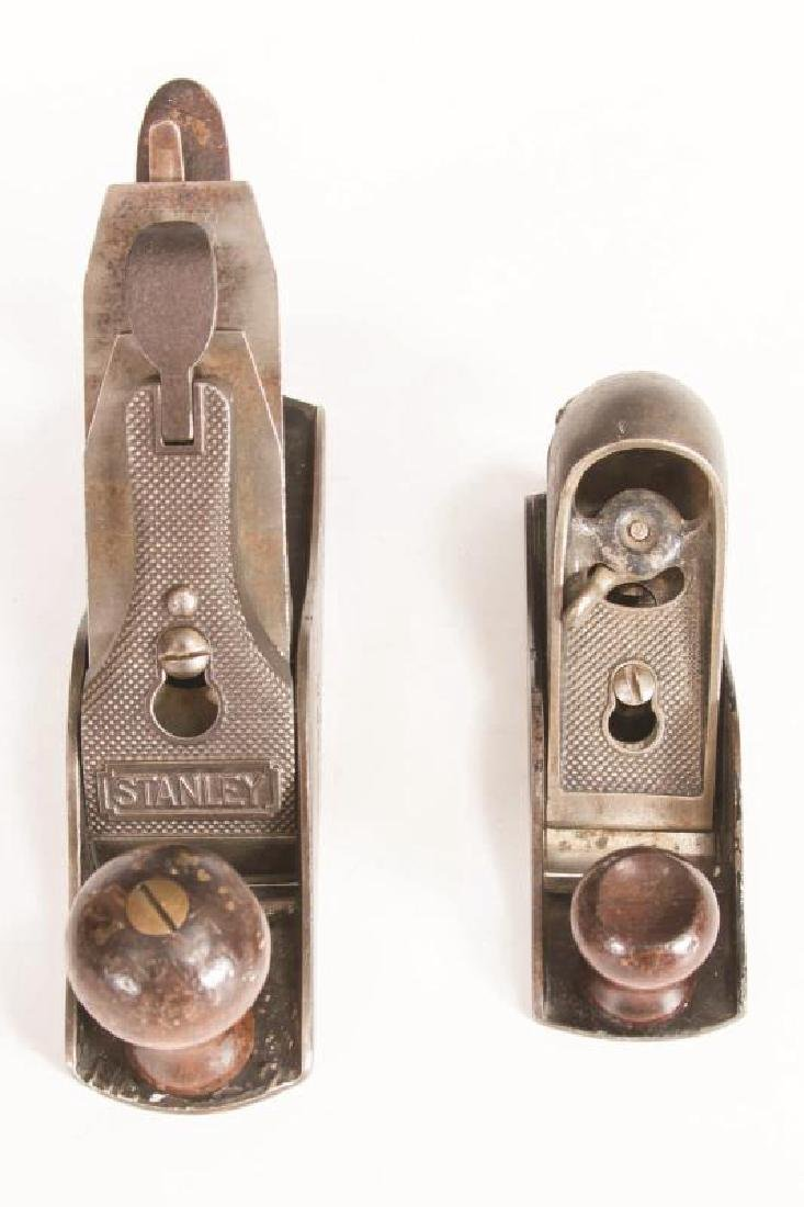 A STANLEY NO. 203 BLOCK PLANE AND, NO. 2 SMOOTH - 2