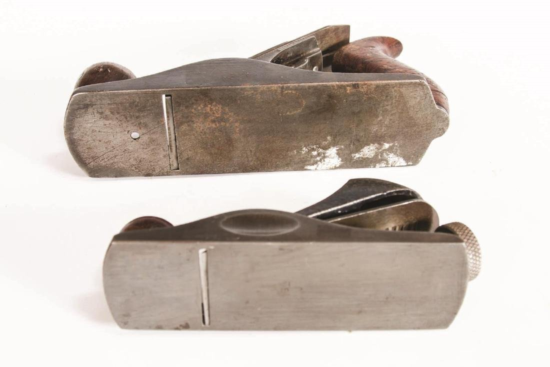 A STANLEY NO. 203 BLOCK PLANE AND, NO. 2 SMOOTH - 5
