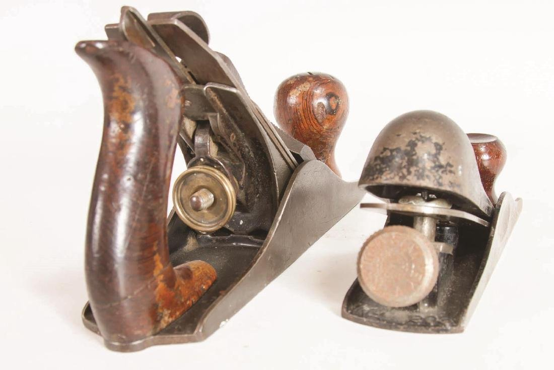 A STANLEY NO. 203 BLOCK PLANE AND, NO. 2 SMOOTH - 6