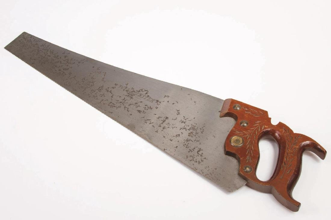 A VINTAGE WINCHESTER NO. 10 HAND SAW