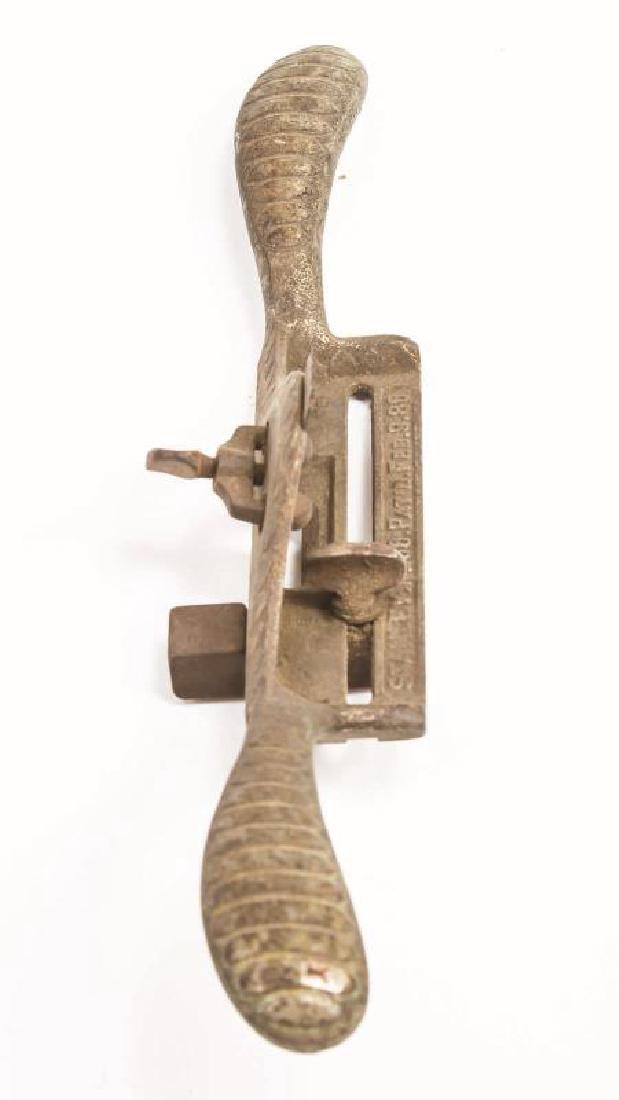 A VINTAGE STANLEY NO. 66 HAND BEADER - 4