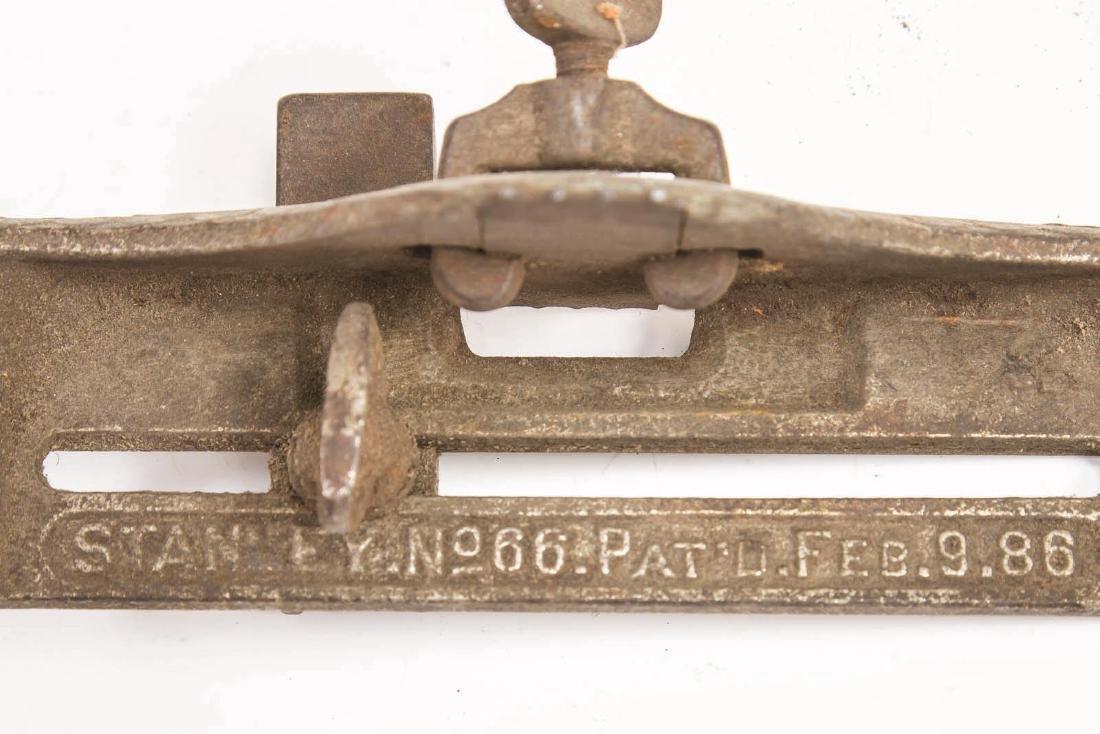 A VINTAGE STANLEY NO. 66 HAND BEADER - 7