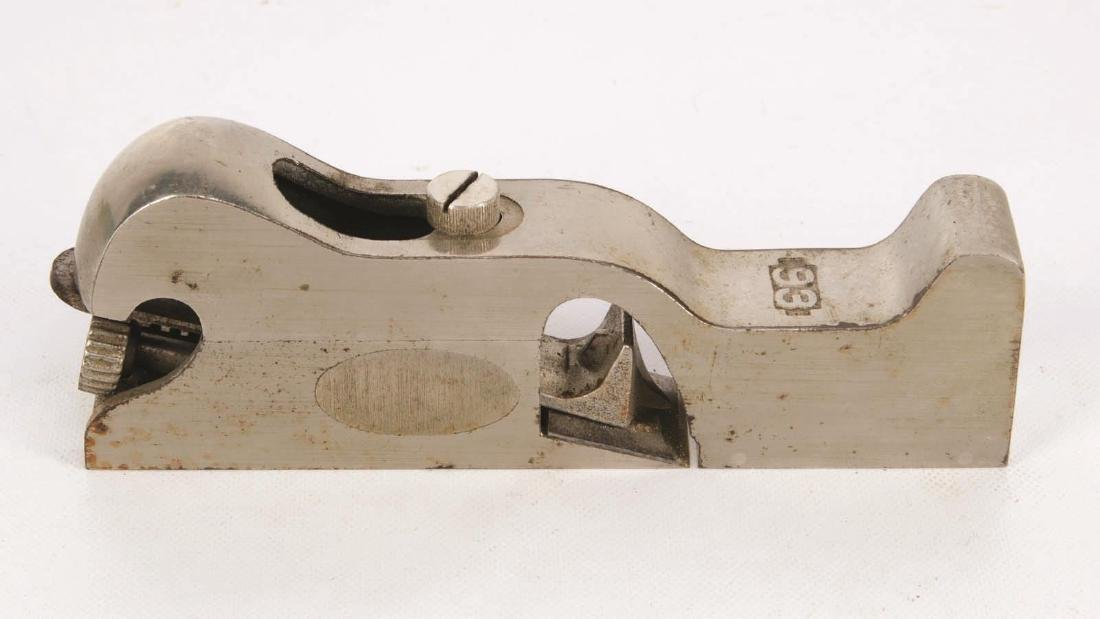 A STANLEY NO. 93 CABINET MAKER'S RABBET PLANE - 3