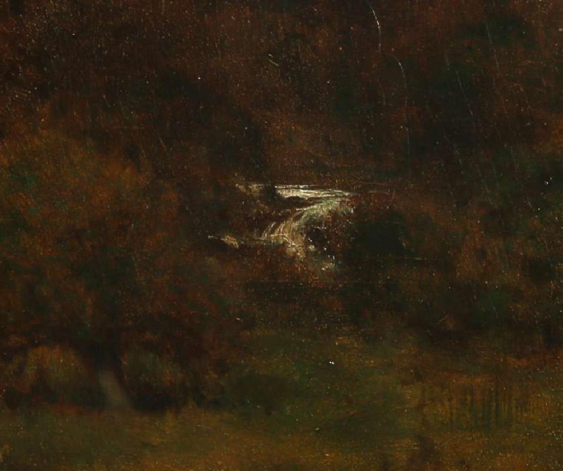 GEORGE INNESS (1825-1894) OIL ON PANEL - 10