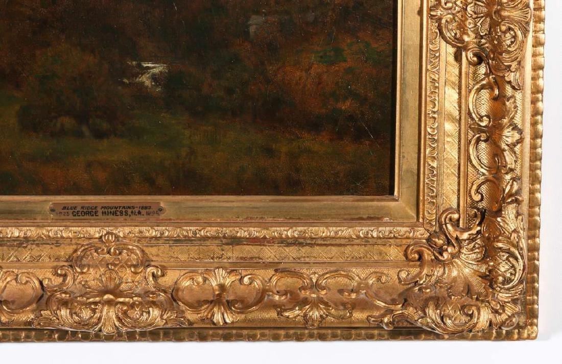 GEORGE INNESS (1825-1894) OIL ON PANEL - 5