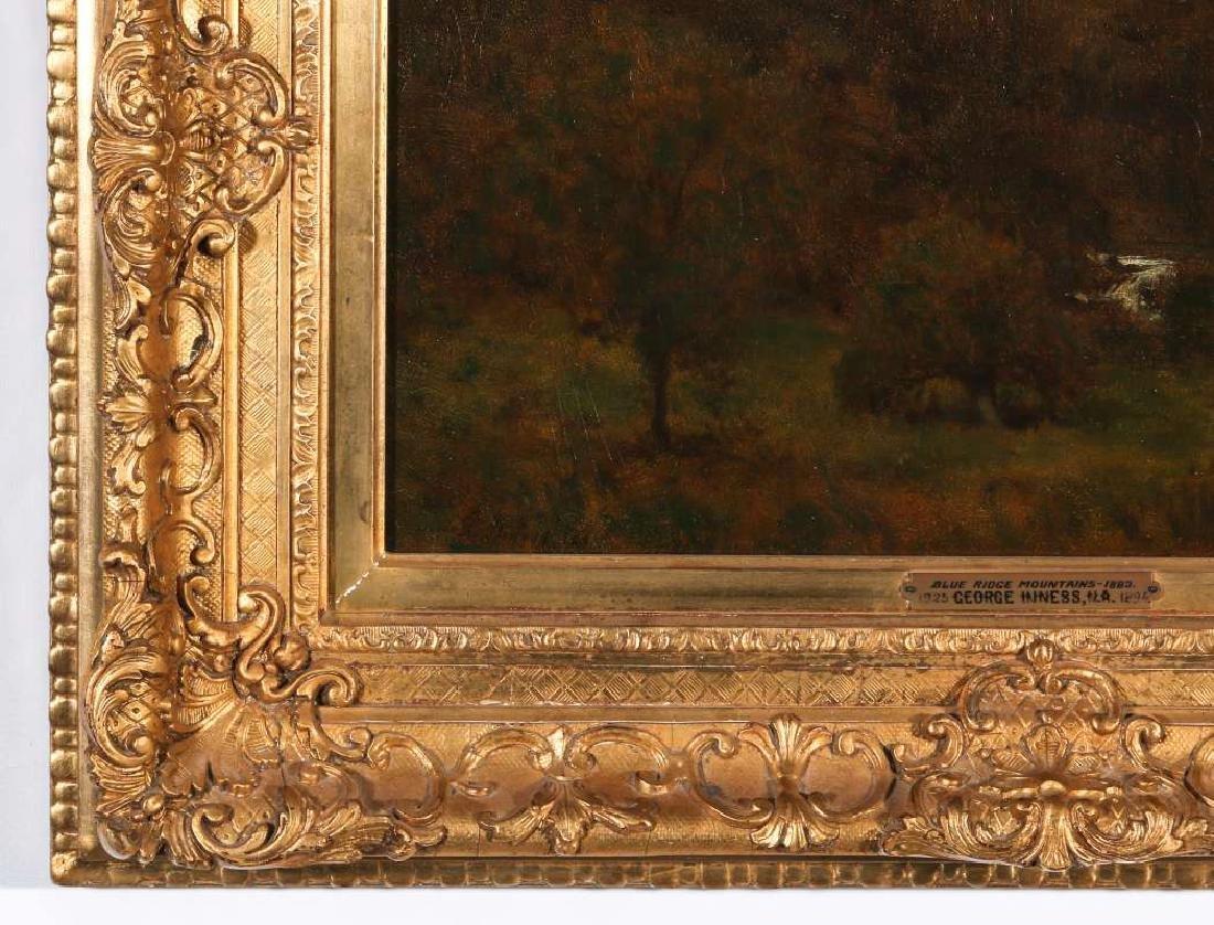 GEORGE INNESS (1825-1894) OIL ON PANEL - 6