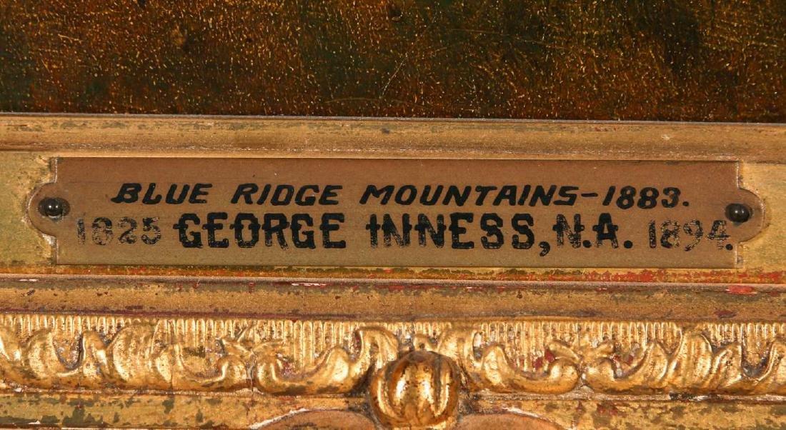 GEORGE INNESS (1825-1894) OIL ON PANEL - 7