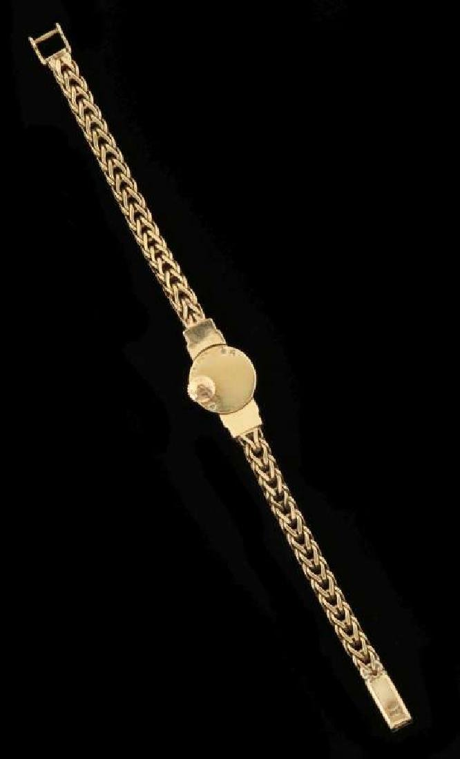 VINTAGE LADIES 18K WATCH BY LECOULTRE FOR CARTIER - 6