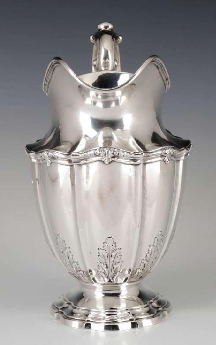 A GORHAM DURGIN STERLING SILVER WATER PITCHER - 9