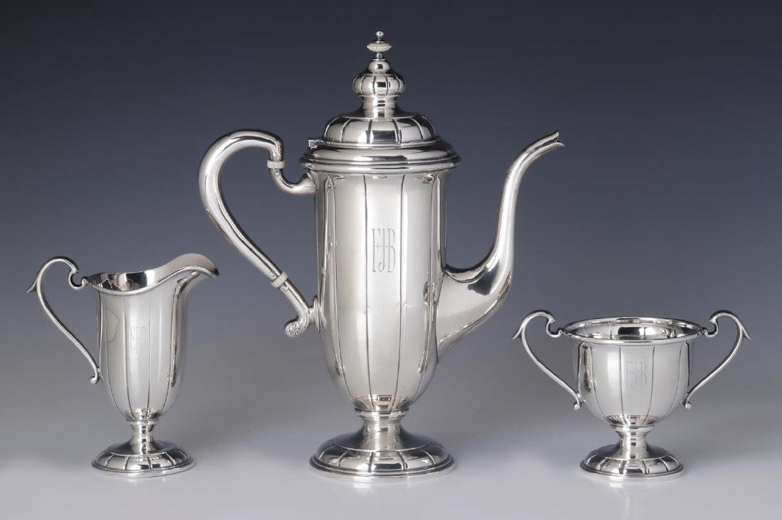 A JULIUS RANDAHL COFFEE SET FOR CALDWELL & CO - 5