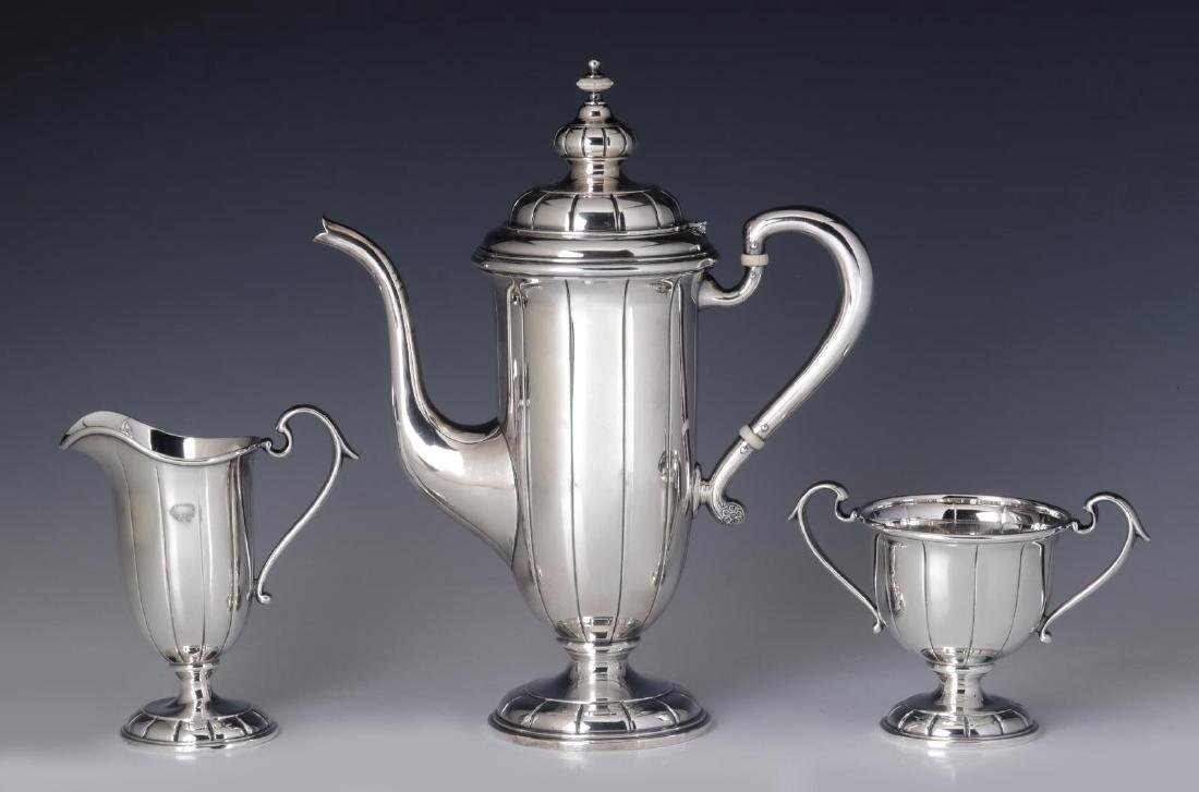 A JULIUS RANDAHL COFFEE SET FOR CALDWELL & CO - 8