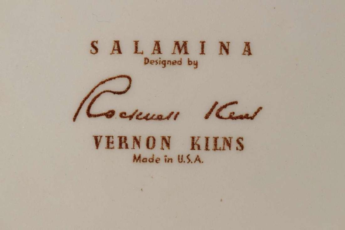 A ROCKWELL KENT 'SALAMINA'  BOWL FOR VERNON KILNS - 9