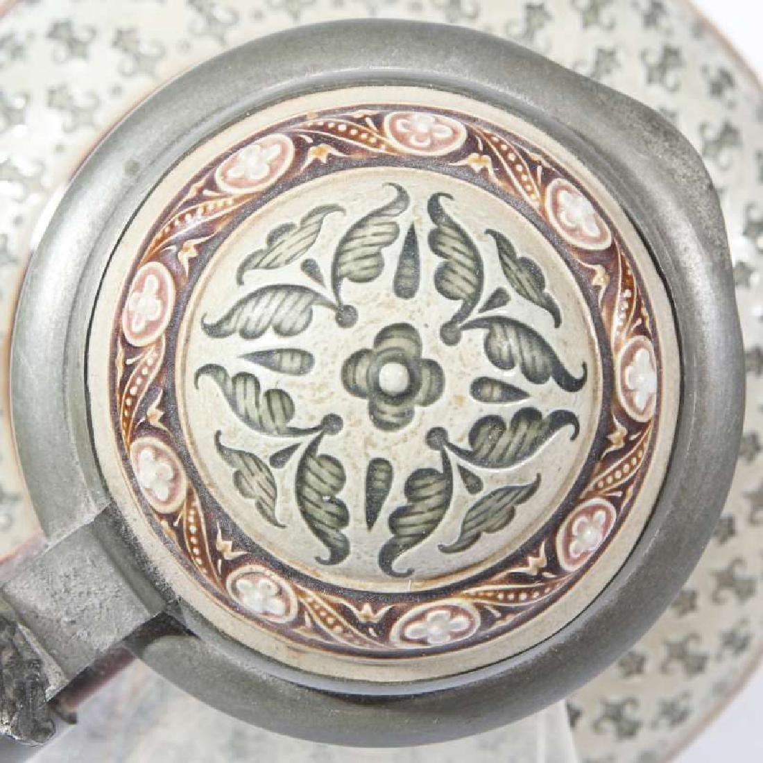 METTLACH MOSAIC MASTER STEIN NUMBER 1771 - 6