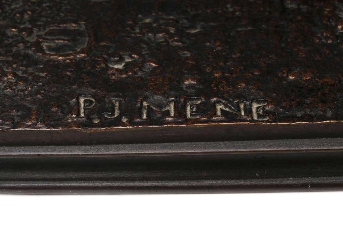 PIERRE JULES MENE (1810-1879) EQUESTRIAN BRONZE - 4