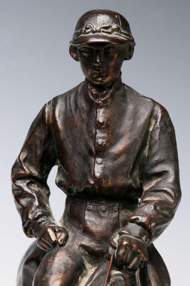 PIERRE JULES MENE (1810-1879) EQUESTRIAN BRONZE - 5