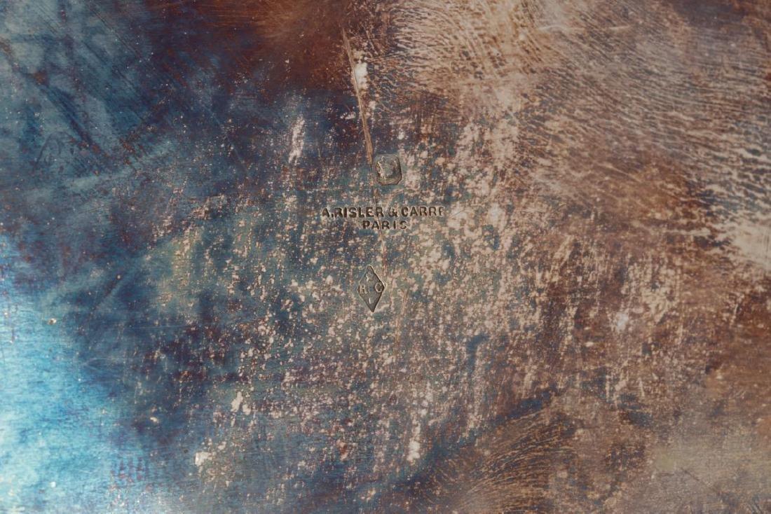 RISLER & CARRE PARIS STERLING SILVER PLATES - 6