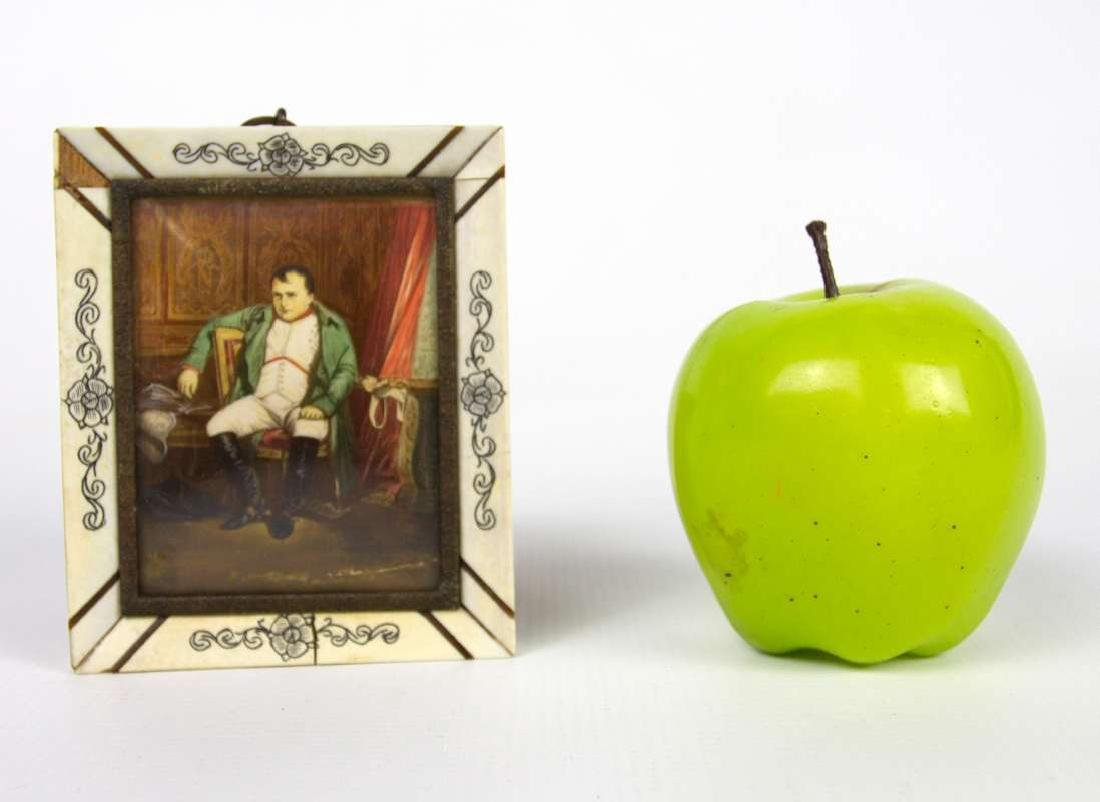 A MINIATURE PAINTING OF NAPOLEON AFTER DELAROCHE - 2