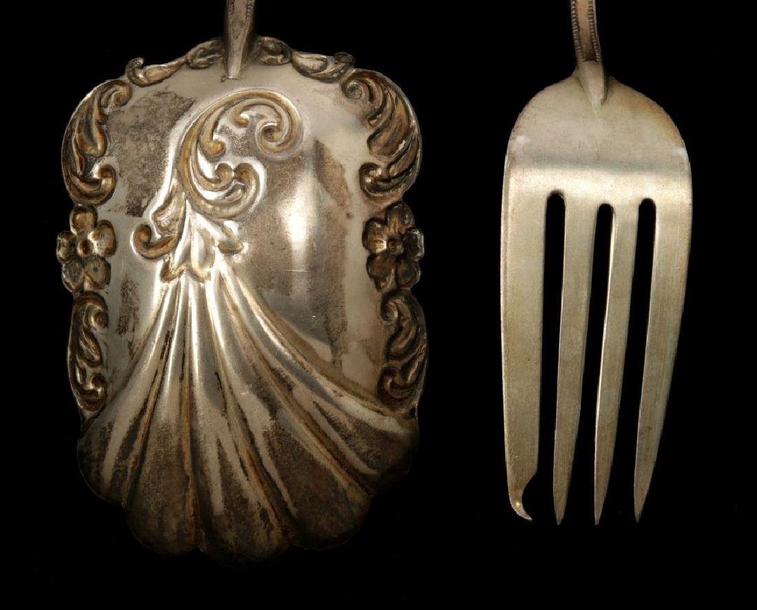 EDWARDIAN ENAMELED STERLING SILVER PIECES - 9