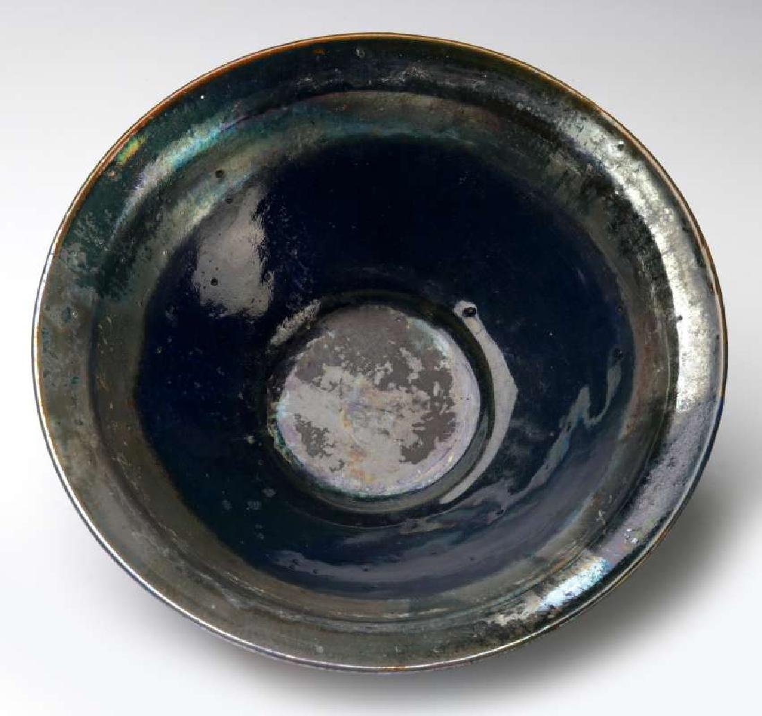 AN EARLY 20TH CENTURY PEWABIC POTTERY BOWL - 4
