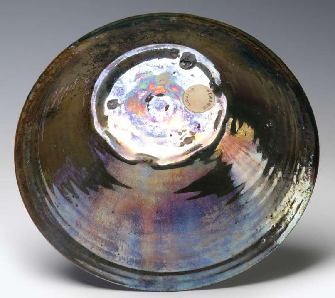 AN EARLY 20TH CENTURY PEWABIC POTTERY BOWL - 5