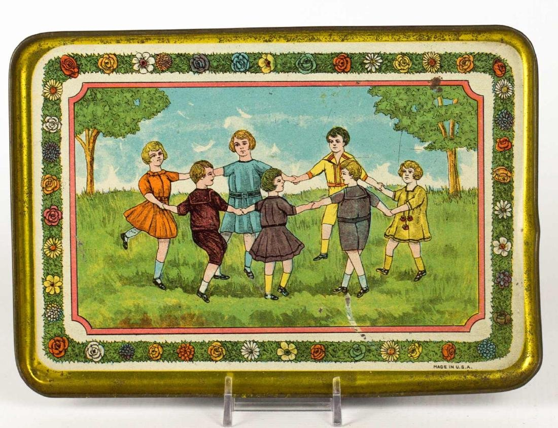 A TIN LITHO CHILD'S TRAY