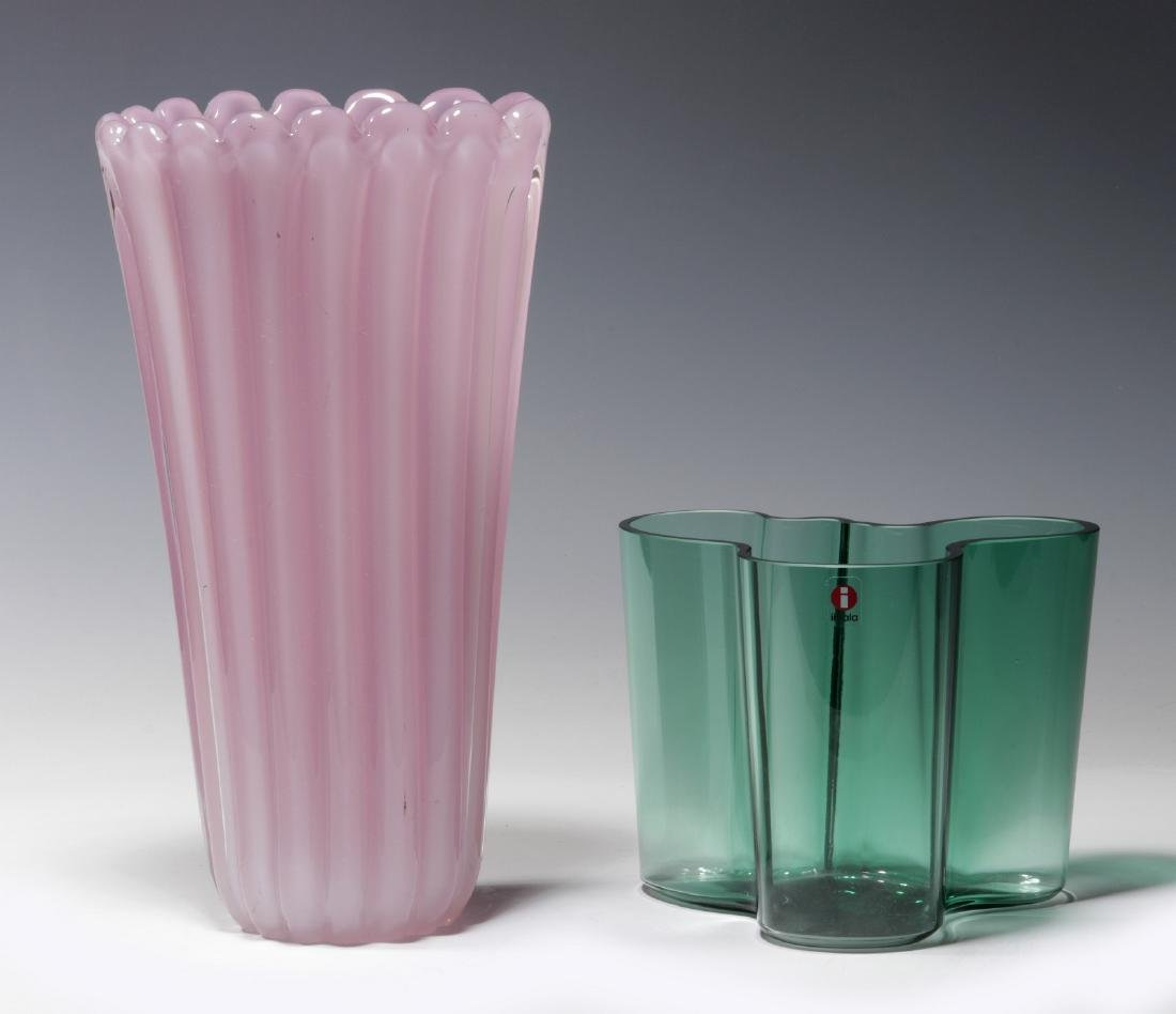 ALVAR AALTO AND OTHER MURANO GLASS