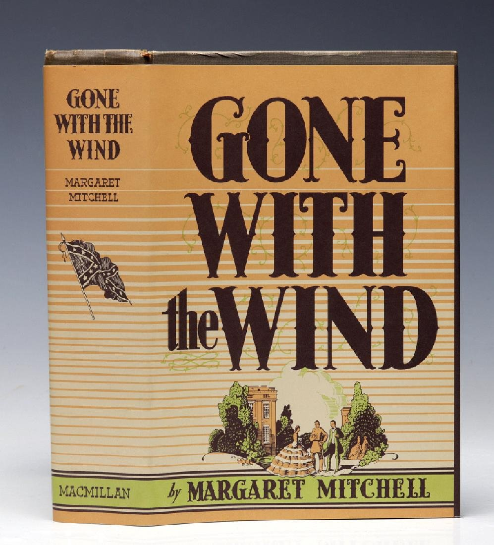SIGNED 1ST EDITION (MAY 1936) GONE WITH THE WIND
