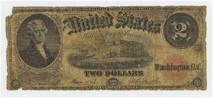 1917 TWO DOLLAR LEGAL TENDER NOTE