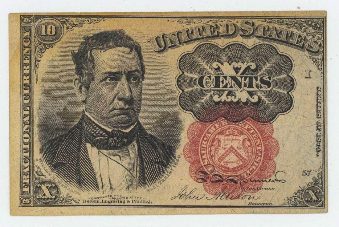 TEN CENT FACTIONAL CURRENCY
