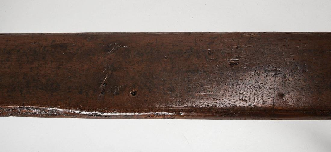 A EARLY 18TH / EARLY 19TH CENTURY PRIMITIVE BENCH - 3