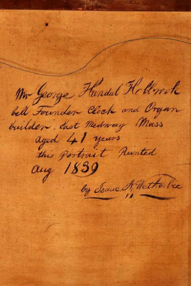 1839 MEDWAY MASSACHUSETTS BELLFOUNDER PORTRAIT - 10