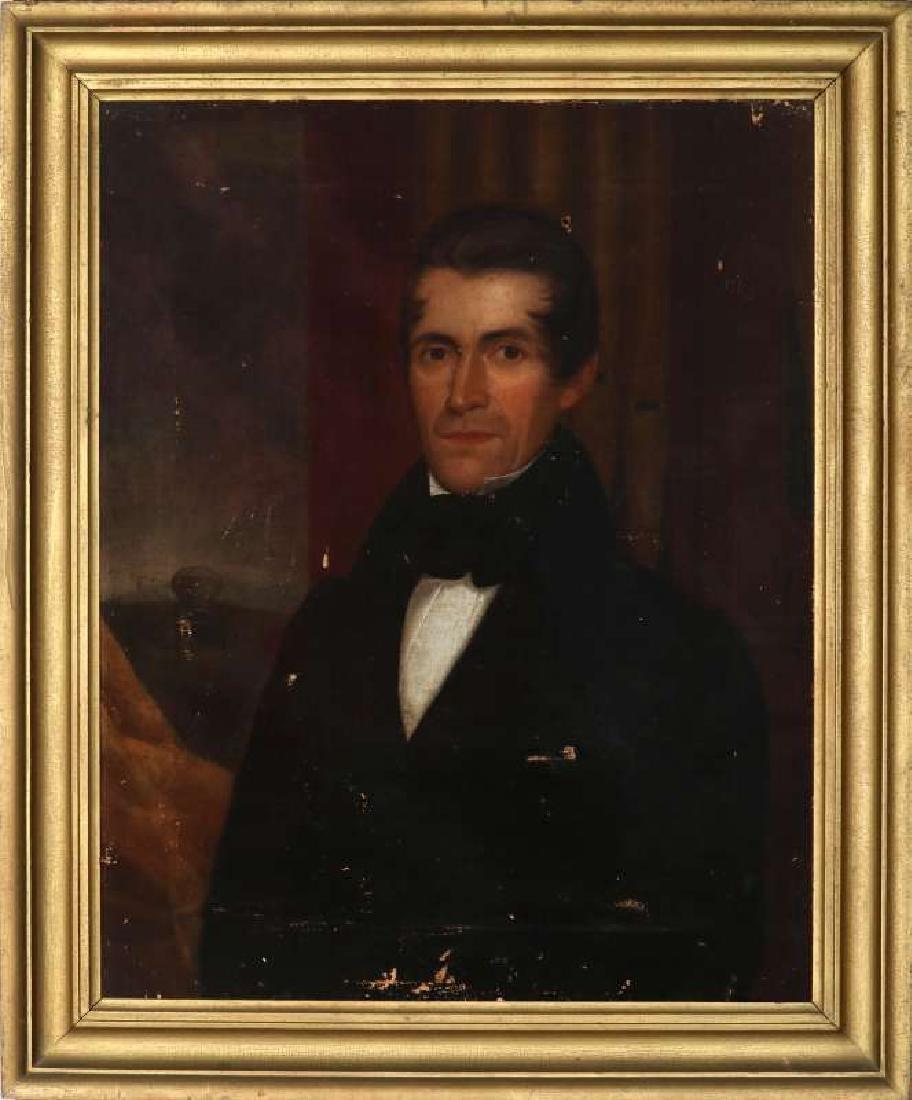 1839 MEDWAY MASSACHUSETTS BELLFOUNDER PORTRAIT