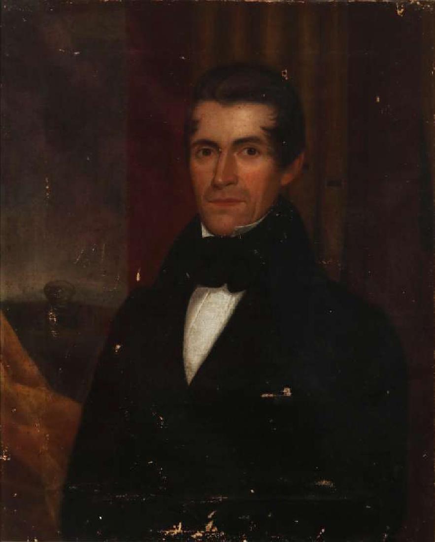 1839 MEDWAY MASSACHUSETTS BELLFOUNDER PORTRAIT - 2