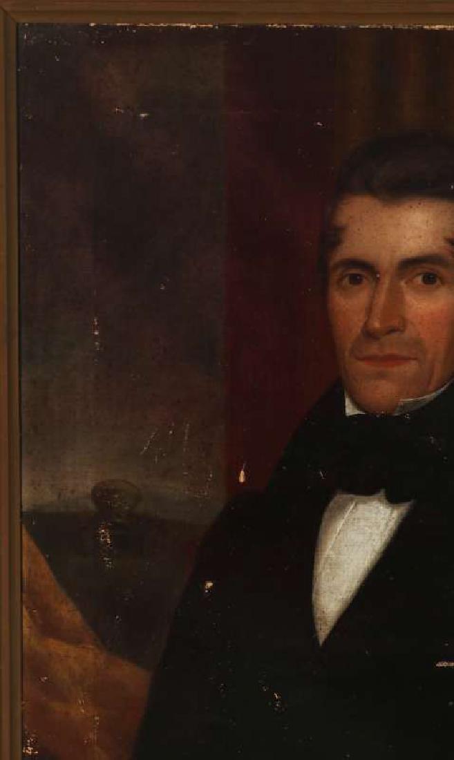 1839 MEDWAY MASSACHUSETTS BELLFOUNDER PORTRAIT - 3
