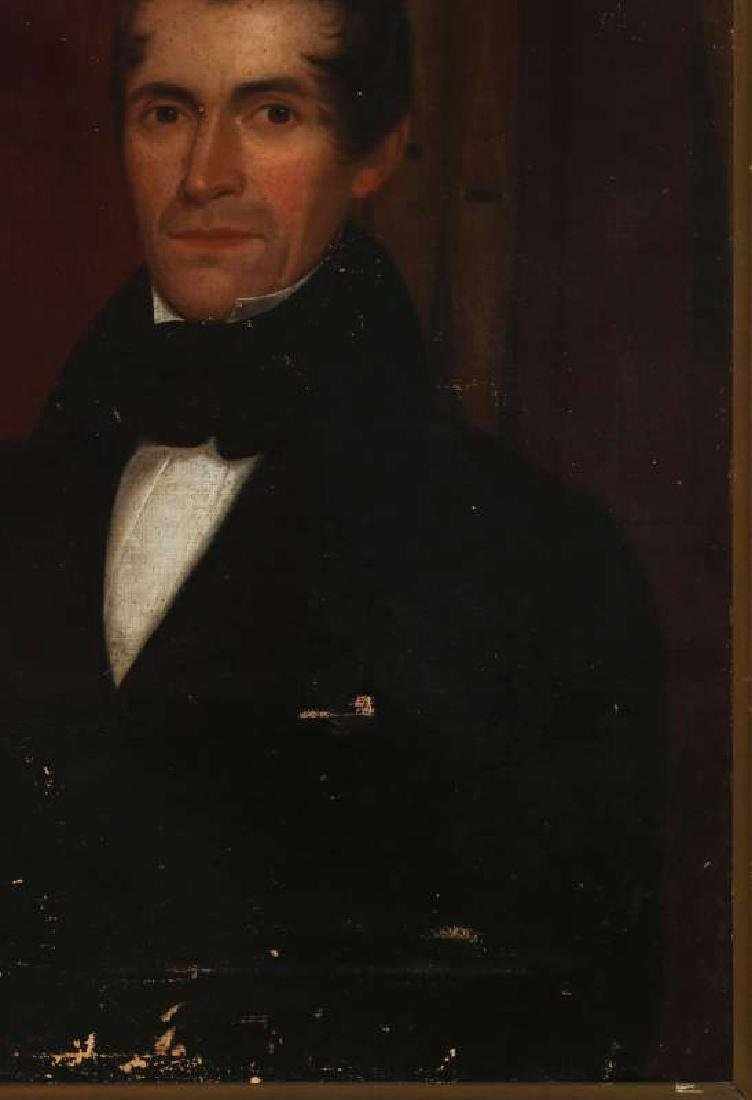 1839 MEDWAY MASSACHUSETTS BELLFOUNDER PORTRAIT - 5
